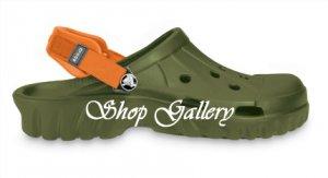 Off Road - Army Green & Orange