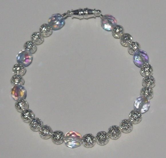 Beaded Filigree Bracelet