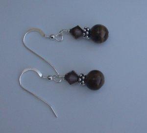 Beaded Gemstones Earrings