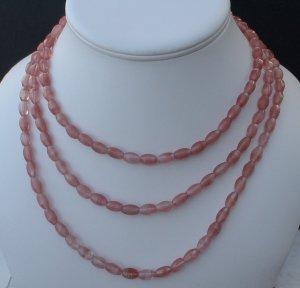 Beaded Quartz Necklace