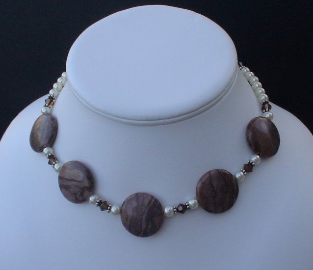 Beaded Pearl Necklace