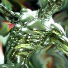 Very Rare Original Design Chrome Silver Surfer Statue 1/4