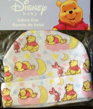 Disney Baby *WINNIE the POOH & PIGLET* Infant Cap