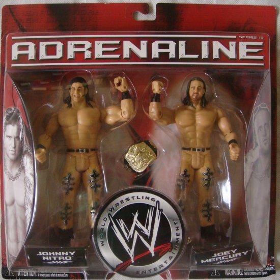 Adrenaline WWE Johnny Nitro and Joey Mercury