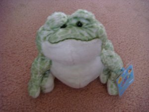 Webkinz spotted frog with unused tags