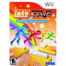 Let's Tap Nintendo Wii game