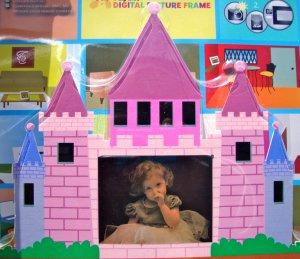 Nextar 3.5 inch DigitalJ Photo Frame Pink Princess Castle