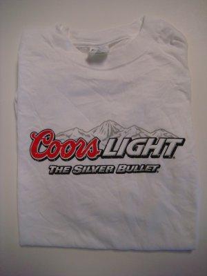 Coors Light Tee Shirt Large