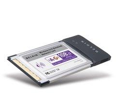 Belkin Dual-Band Wireless A+G Notebook Network Card