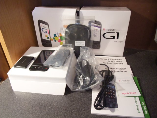 HTC Dream Google T Mobile G1 Android Smartphone (Unlocked)