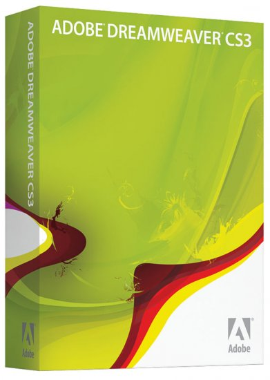 Adobe Dreamweaver CS3 For Windows