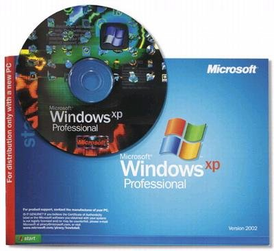 Microsoft Windows XP Professional with SP2 Full Version OEM