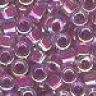 Delica Beads 11/0 Lined Magenta AB 056, 50g Delicas