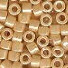 Delica Beads 11/0 Op Beige Luster 205, 50g Delicas