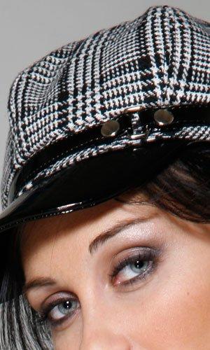 Plaid Mod Hat~997300
