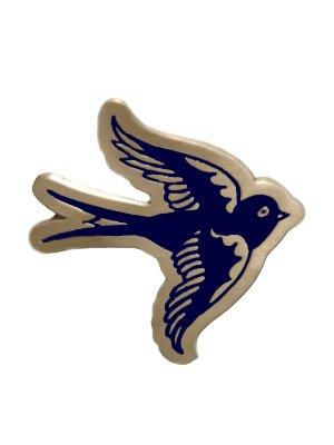 SAILOR JERRY SWALLOW BIRD TATTOO BELT BUCKLE PUNK NEW
