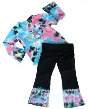 Rainbow Tie Dye Outfit Long Sleeve 6-12