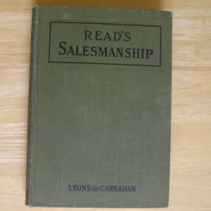 Read's Salesmanship by Harlan Eugene Read HC