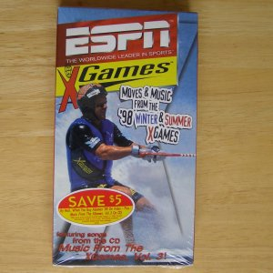 1998 ESPN Summer Winter X Games VHS Brand New