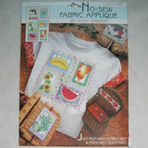 NEW Daisy Kingdom No-Sew Fabric Applique - Country Faire