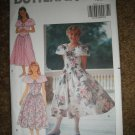 Butterick Sewing Pattern 5340 5322 Girl Size 7 8 10 Easy Dress Uncut