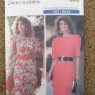Butterick Sewing Pattern 3662 Misses Size 6 8 10 Easy Dress Uncut
