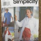 Simplicity Sewing Pattern 8236 Misses Size 12 14 16 Split Skirt Slim Skirt and Shirt Jacket Uncut