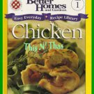 Better Homes & Gardens CHICKEN Easy Everyday Library Vol #1 Cookbook 2000 ~VGC~