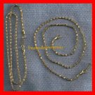 """Necklace Snake Chain Necklace 18KGP Approxmately 17""""(Quanity of 2)"""