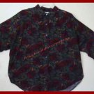 Womens Maggie Lawrence Blouse Multi Colors LgSleeve 2XL