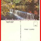 Post Card VT Fall Foilage & Cascading Country Stream, Vermont UNUSED