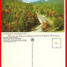 Post Card NH Fall Foilage Franconia Notch ~ White Mountains, New Hampshire