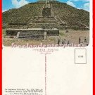 Post Card MEX The Imposing Ancient Pyramid Of Sun San Juan, Mexico