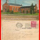 Post Card MD 1136 Post Chapel, Fort Meade Maryland Linen 1953 VTG