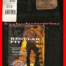 Mens Pants Dickies Denim Jeans ~BLACK~ Size 33 X 34 NWT