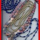 Jewelry Lot 16 Beaded-Braided Variety Lot Neck/Bracelet