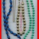 Jewelry Lot 16 Bead & Braided Variety Lot Neck/Bracelet