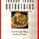 Jeanne Jones Entertains Cookbook by Jeanne Jones 1991