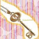 Necklace Key To My Heart Necklace Goldtone (NEW)