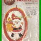 CRAFTS Christmas Santa w/ Presents Ornament Kit CM 7267