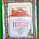 Christmas PIN #054 Homes for the Holidays 1995 Dickens Village Enamel Tac