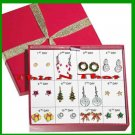Christmas Earrings Countdown to Christmas 12 Days/Pairs