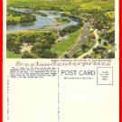 Post Card PA View From Table Rock Susquehanna River, Laceyville, Pennsylvania