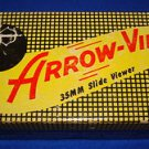 Vintage Arrow-View 35MM Slide Viewer With Black, Yellow & Red Original box