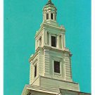 Post Card MA..Cape Cod..Christopher Wren designed Church Tower on Old Cape Cod