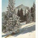 Post Card Europe..Germany..Die Alpspitze Wintersonne VTG
