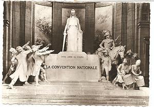 Post Card Europe France..Paris Le Pantheon La Conventioin Nationale Sicard 219