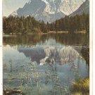 Post Card Europe Austria..Die zugspitze mit weissensee VTG