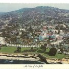 Post Card CA La Jolla, California Hotel La Valencia AIR VIEW Residential Tourist