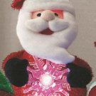 Christmas Light Up Pal ~ SANTA ~ NEW in pakage ~ Great for a Gift or Decoration